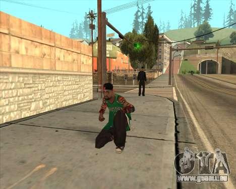 Grove HD pour GTA San Andreas quatrième écran