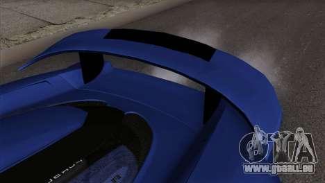 Gemballa Mirage GT v1 Windows Up für GTA San Andreas rechten Ansicht