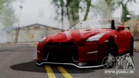 Nissan GTR Nismo 2015 für GTA San Andreas