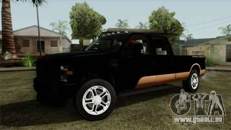 Ford F350 Harley Davidson pour GTA San Andreas