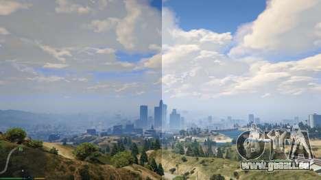GTA 5 Reshade & SweetFX zweite Screenshot