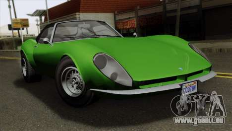 GTA 5 Grotti Stinger GT v2 pour GTA San Andreas