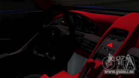 Gemballa Mirage GT v1 Windows Up für GTA San Andreas Rückansicht