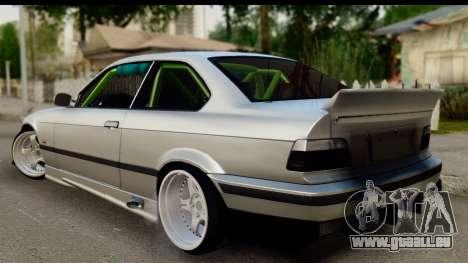 BMW E36 Drift für GTA San Andreas linke Ansicht