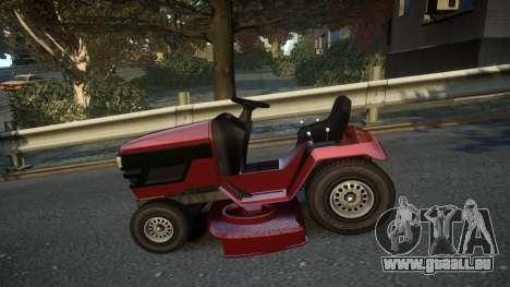 GTA V Lawn Mower pour GTA 4 est une gauche