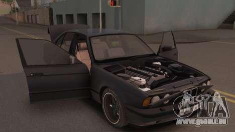 BMW 525i E34 2.0 für GTA San Andreas Rückansicht