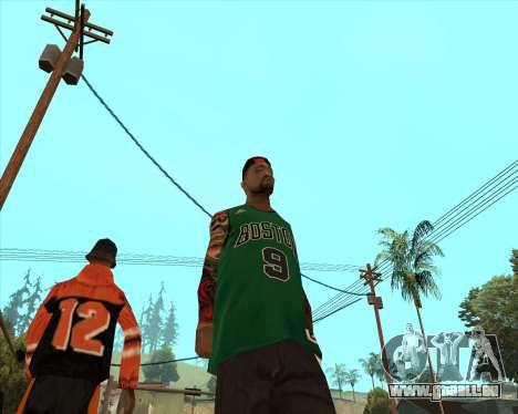 Grove HD pour GTA San Andreas deuxième écran