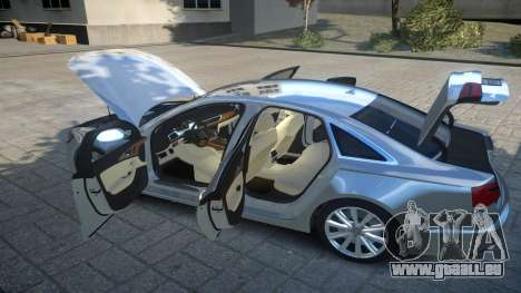 Audi A6 2012 v1.0 pour GTA 4 vue de dessus