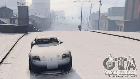 GTA 5 GTA V Online Snow Mod vierten Screenshot