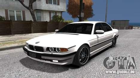 BMW 750i e38 1994 Final für GTA 4 Seitenansicht