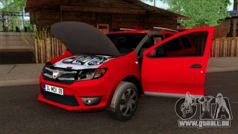 Dacia Logan MCV 2013 HQLM für GTA San Andreas rechten Ansicht
