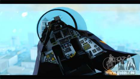 F-16D Fighting Falcon Dutch Demo Team J-015 pour GTA San Andreas vue de droite