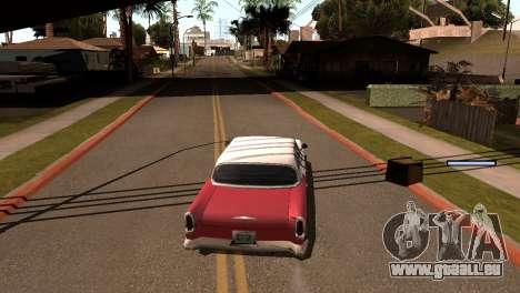 Nouvelles de l'ombre sans perdre de FPS pour GTA San Andreas cinquième écran
