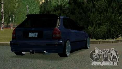 Honda Civic EK9 pour GTA San Andreas vue de droite