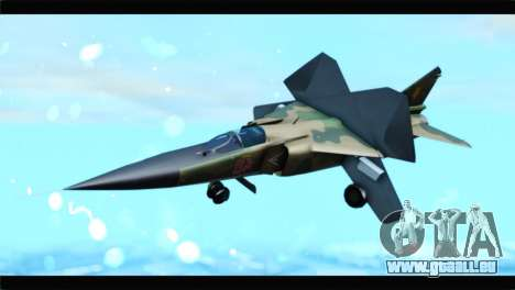 MIG-23ML Yuktobanian Air Force pour GTA San Andreas