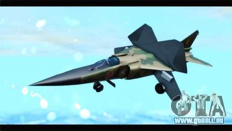 MIG-23ML Yuktobanian Air Force für GTA San Andreas
