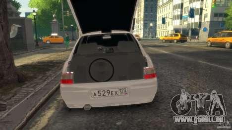 VAZ 2112 coupé BadBoy pour GTA 4 est un droit