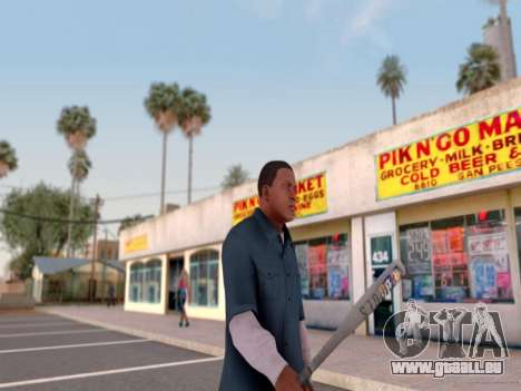 ENB für Mittel-PC von WD für GTA San Andreas sechsten Screenshot