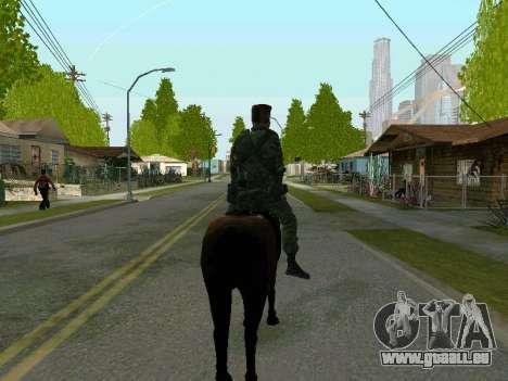 Kuban Cossack pour GTA San Andreas cinquième écran