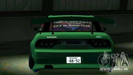 Nissan 180SX pour GTA San Andreas vue de droite