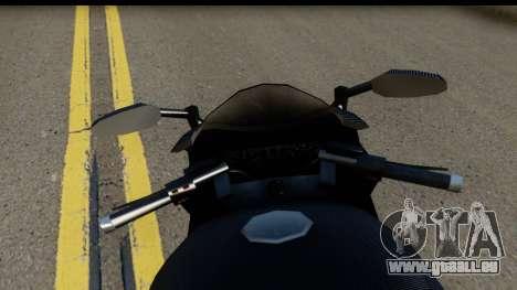 GTA 5 Carbon RS für GTA San Andreas zurück linke Ansicht
