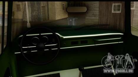 Steagul Rosu 114 M für GTA San Andreas Rückansicht