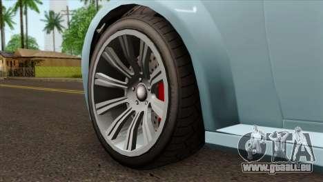 GTA 5 Ubermacht Zion XS Cabrio IVF pour GTA San Andreas sur la vue arrière gauche