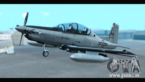 Beechcraft T-6 Texan II US Air Force 3 für GTA San Andreas