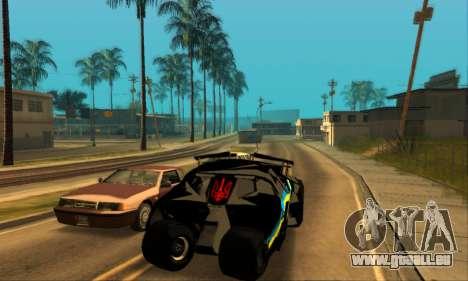 The Tumbler UA Style pour GTA San Andreas sur la vue arrière gauche