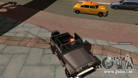 Nouvelles de l'ombre sans perdre de FPS pour GTA San Andreas douzième écran