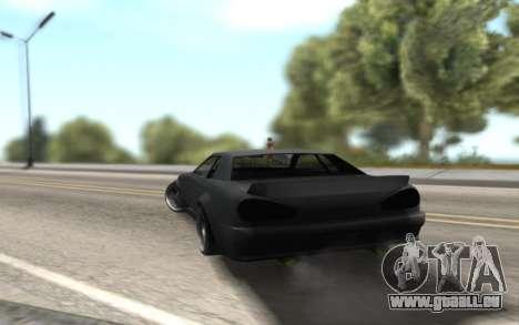 Elegy Drift by Randy v1.1 pour GTA San Andreas laissé vue