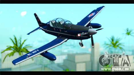 Beechcraft T-6 Texan II Royal Canadian Air Force für GTA San Andreas