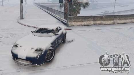 GTA 5 GTA V Online Snow Mod fünfter Screenshot