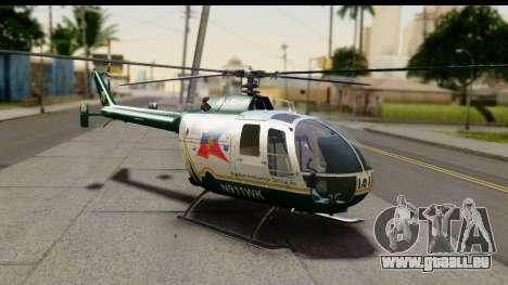 MBB Bo-105 Air Med für GTA San Andreas