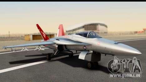 McDonnell Douglas FA-18C Hornet VMFA-232 USMC pour GTA San Andreas
