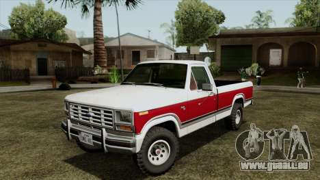 Ford F-150 1982 Final pour GTA San Andreas