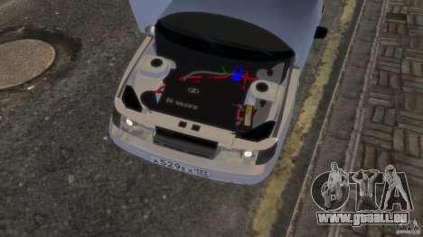 VAZ 2112 coupe BadBoy für GTA 4 Rückansicht