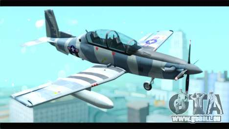 Beechcraft T-6 Texan II United States Air Force für GTA San Andreas
