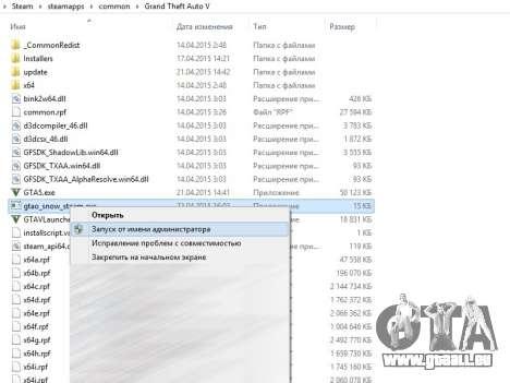 GTA 5 GTA V Online Snow Mod Siebter Screenshot
