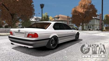 BMW 750i e38 1994 Final pour GTA 4 Salon