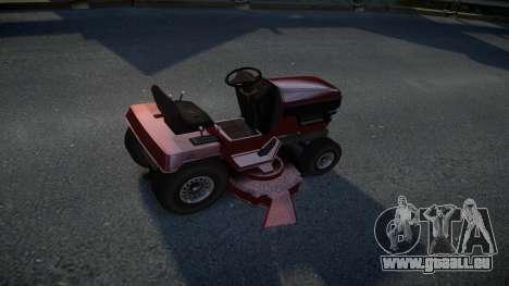 GTA V Lawn Mower pour GTA 4 est un droit