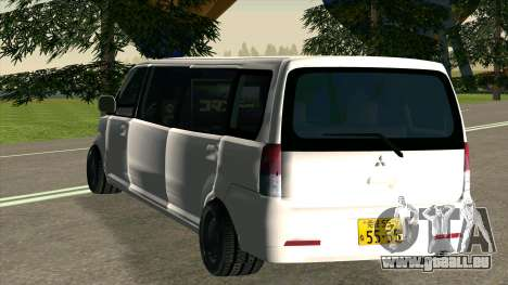 Mitsubishi EK Wagon Limo pour GTA San Andreas vue de droite
