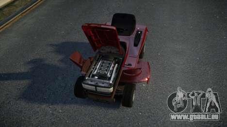 GTA V Lawn Mower für GTA 4 Innenansicht