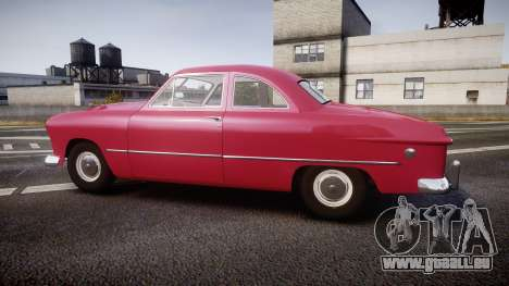 Ford Business 1949 v2.2 pour GTA 4 est une gauche