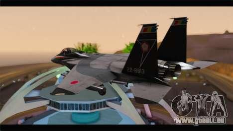 F-15J Hyakuri Air Base 30th Anniversary pour GTA San Andreas laissé vue