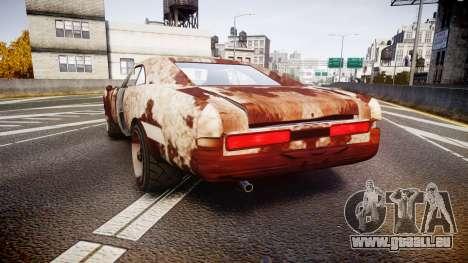 Imponte Dukes Beater pour GTA 4 Vue arrière de la gauche