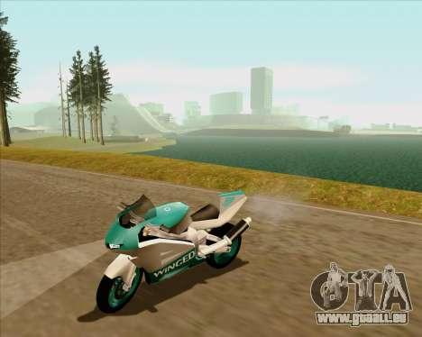 NRG-500 Winged Edition V.2 pour GTA San Andreas vue de dessus