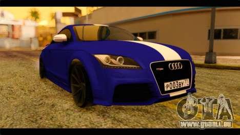Audi TT RS für GTA San Andreas