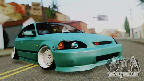 Honda Civic 1.4 Hatcback für GTA San Andreas