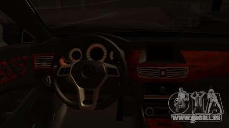 Mercedes-Benz CLS 350 2011 für GTA San Andreas Rückansicht